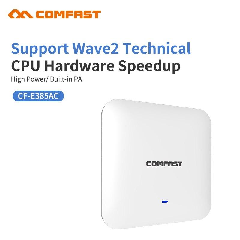 2200 Mbps Gigabit Puissant Intérieure Plafond Sans Fil Point D'accès WiFi AP Wi-Fi Répéteur 1*10/100/1000 Mbps Wan/WAN Extender Routeur