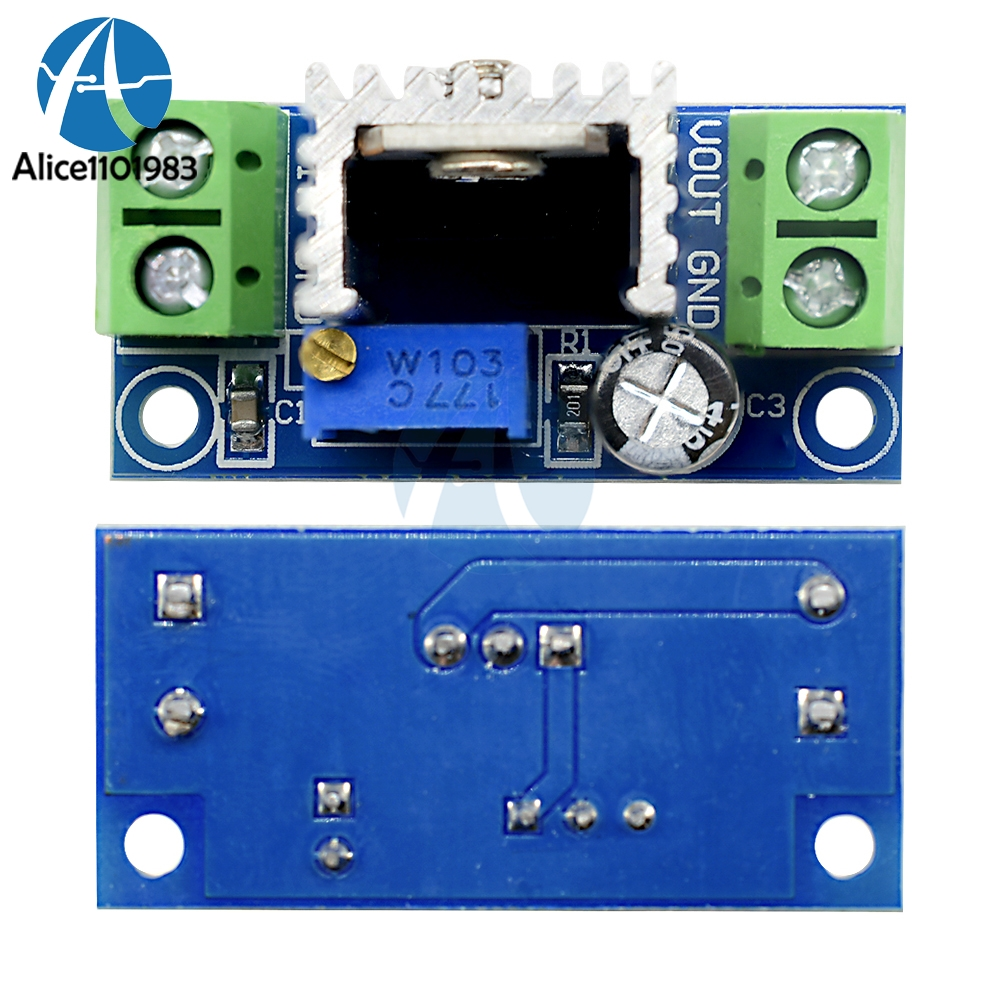 Dc Linear Converter Buck Step Down Power Supply Lm317 Low Ripple Loss Comparison With The Regulator Board Adjustable Module In Integrated Circuits From Electronic Components