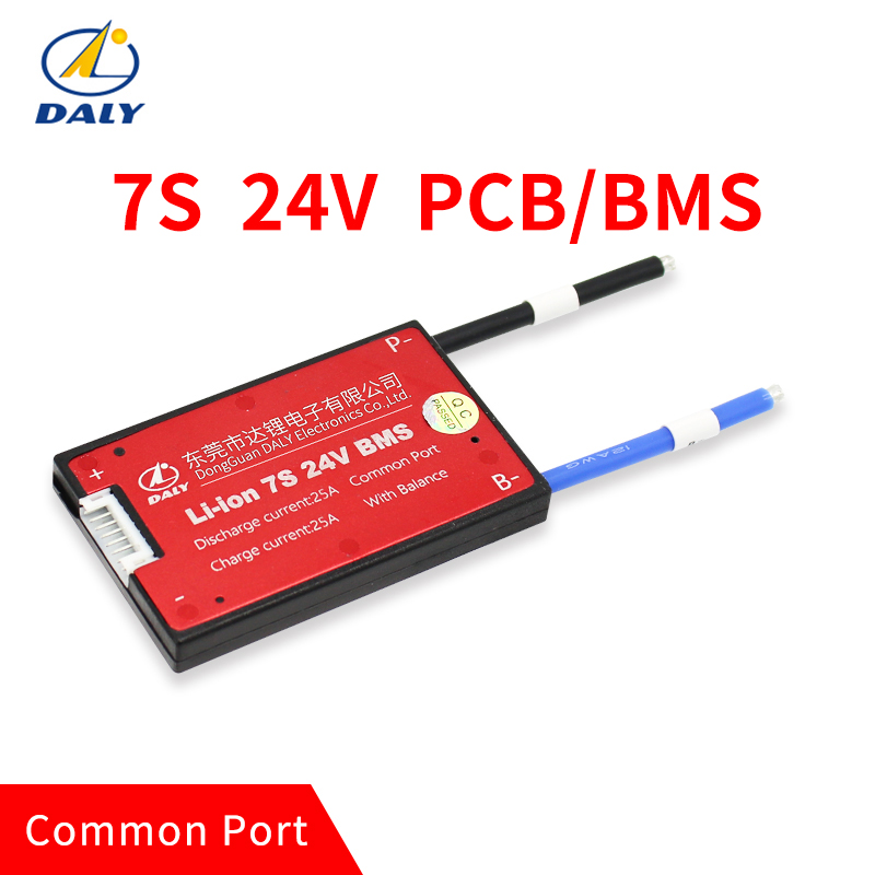 Waterproof 7S 15A 25A 35A 45A 60A 24V Lithium Battery Protection Board BMS Electric Charge Li