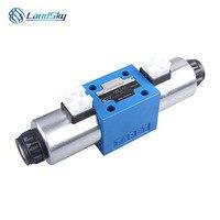 유압 흐름 제어 밸브 도식 유압 방향 밸브 전기 유압 제어 밸브 24 v 4we10j3x/cg24n9k4 4we10