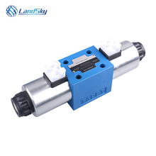 hydraulic flow control valve schematic hydraulic directional valve electric hydraulic control valve 24V 4WE10J3X/CG24N9K4 4WE10 25 104700 group hydraulic solenoid directional valve 12v for jcb 3cx 25 103000