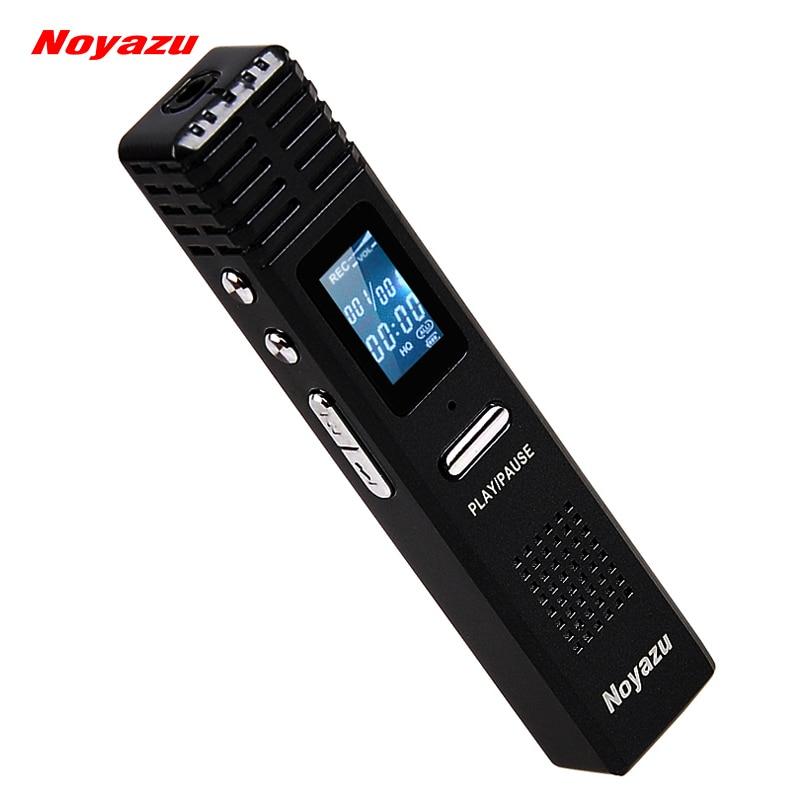 Noyazu D'origine X1 8 GB Enregistreur Vocal Numérique 550 heures Capacité MP3 Lecteur Audio D'origine Professionnel Dictaphone Cadeau