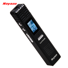 Noyazu Original X1 8GB Digital Voice Recorder 550 hrs Capacity MP3 Player Audio Original Professional Dictaphone Gift