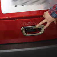 2014 ABS Chrome Rear Trunk Lid Door Handle Bowl Cover Trim for Chevrolet TRAX