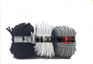 Image 5 - 100 yards/per 2mm Rotonda Corda Elastica di Nylon Rivestito, Stretch Cord Borda String, Misura Per Il Braccialetto & Collana, FAI DA TE Accessori