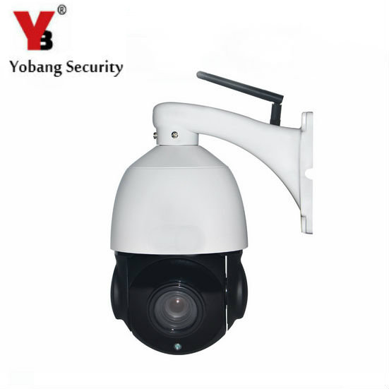 YobangSecurity PTZ 4x Optical Zoom Onvif Outdoor Waterproof Wireless Wifi Security Surveillance Camera 960P CCTV Security System