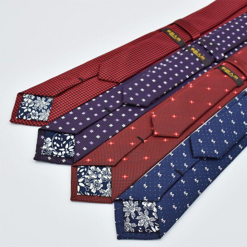 SHENNAIWEI 6 cm shirita kravatë kravatë mashkuj me cilësi të lartë mashkullore gravata burra lidhëse dizajnerët e modës falas falas pentagrama shumë