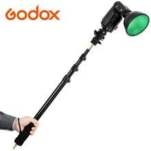 Godox AD S13 55 160cm Portable Light Boom Pole Stick 1 4 Male Thread for WITSTRO