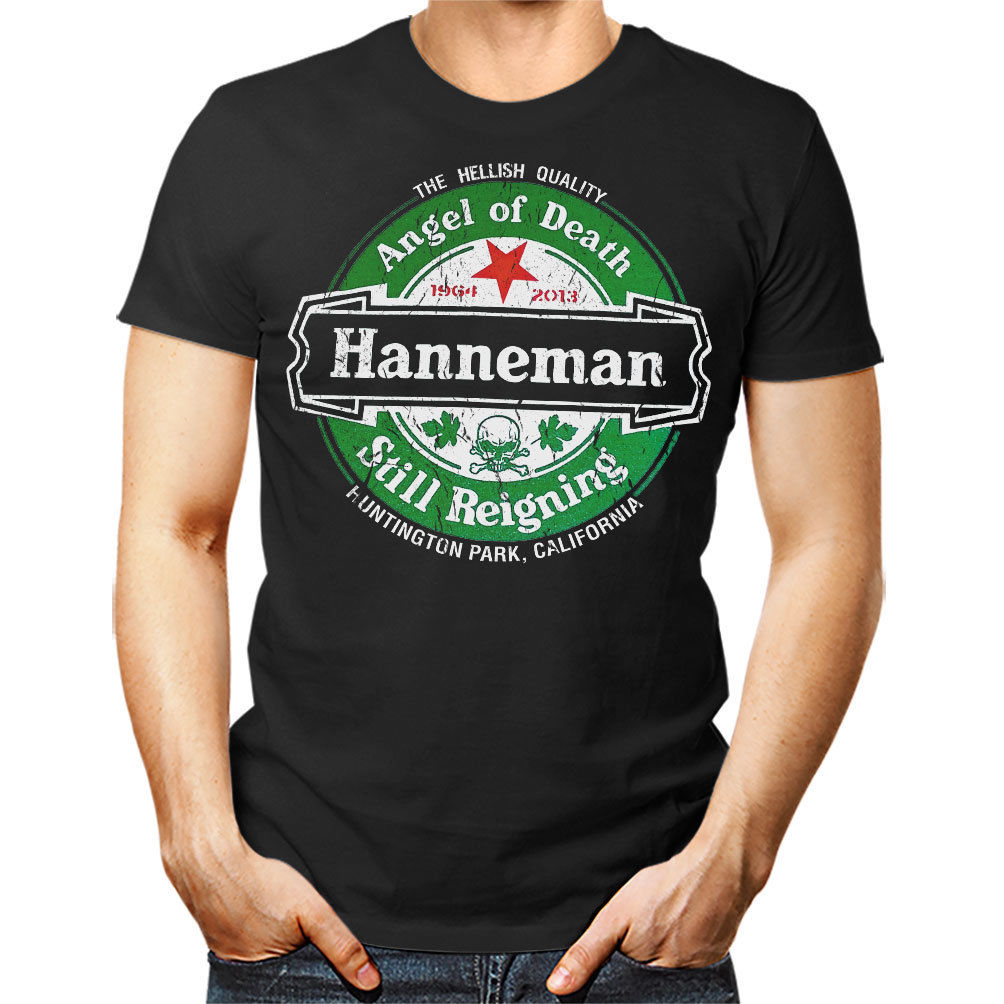 JEFF HANNEMAN unisex T Shirt - Slayer Still Reigning Angel of Death Tee Top Gift Mens 100% Cotton Plus Size top tee