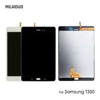LCD Display For Samsung Galaxy Tab A T350 T351 T355 SM T350 Touch Screen Digitizer Full Assembly 8 inch Black/White