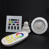 20pcs Lot AC85 265V 2 4G Wireless GU10 RGBW RGB Rgb Warm White Wifi 4W LED
