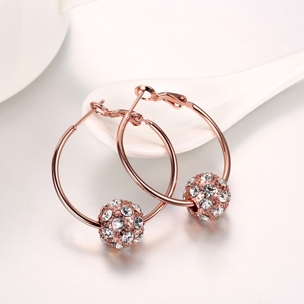 Fashion Jewelery Wholesale 925 Sterling Silver, Pretty Womens Gift Lady Earrings E009 Fashion Trend Bracelet