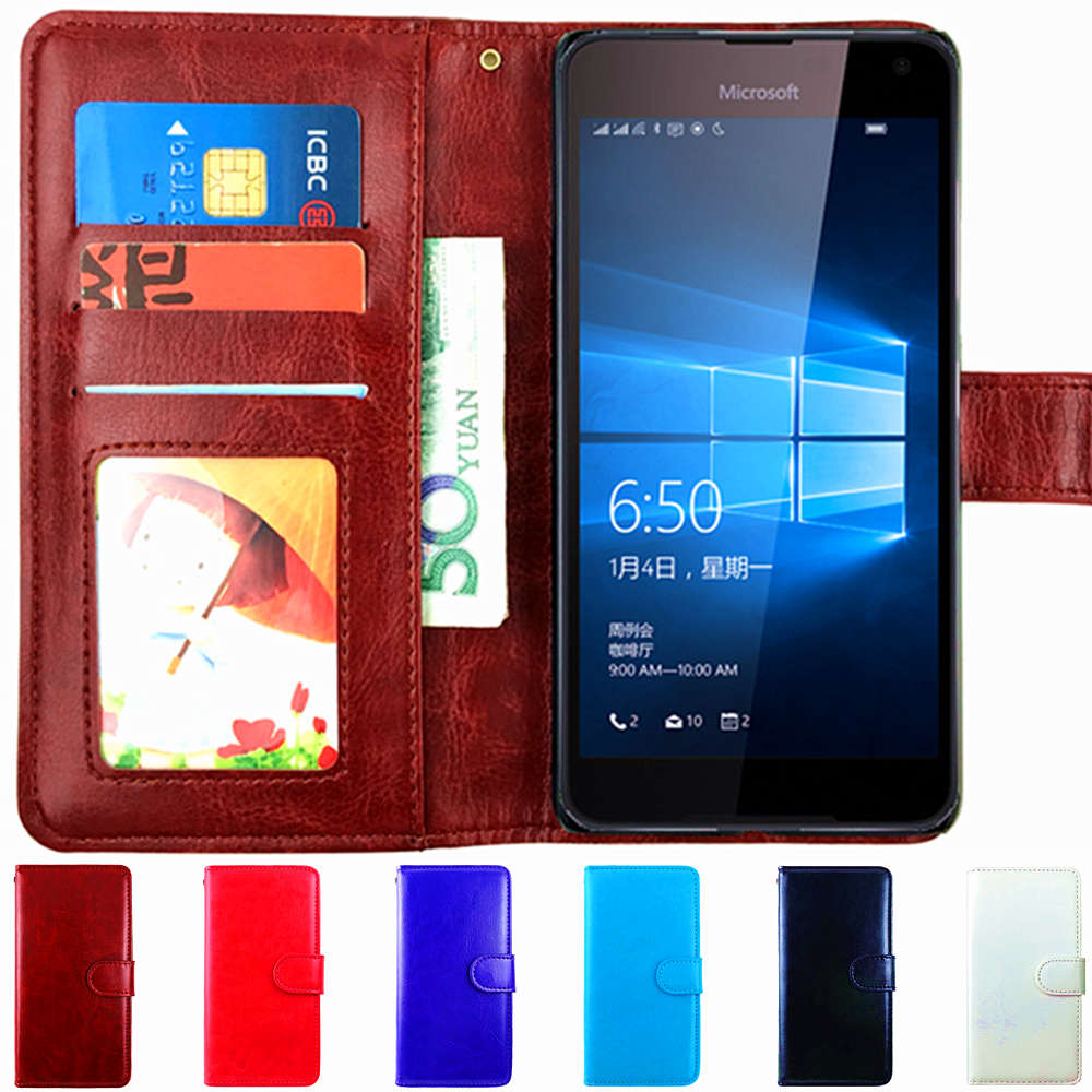 Business Style Flip Phone Case For Nokia 3 5 6 Nokia 7 8 9 Flip Leather Case For Lumia 640 640 Xl 635 730 535 Cover Skin Shell To Make One Feel At Ease And Energetic Clothing, Shoes & Accessories