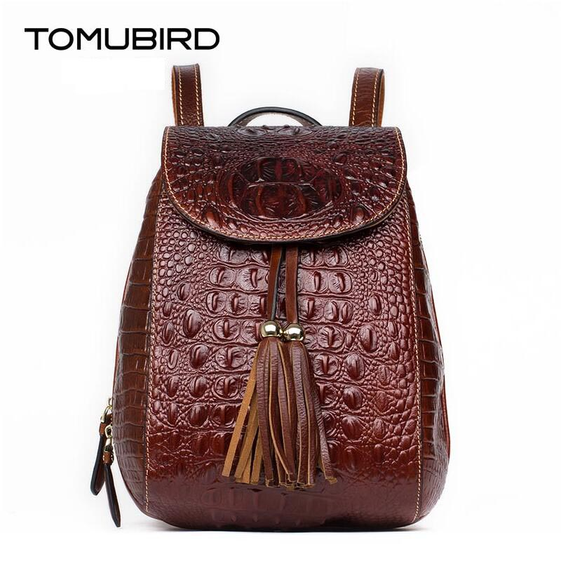 TOMUBIRD saci de designer din piele superioara celebre pungi de brand - Rucsacuri
