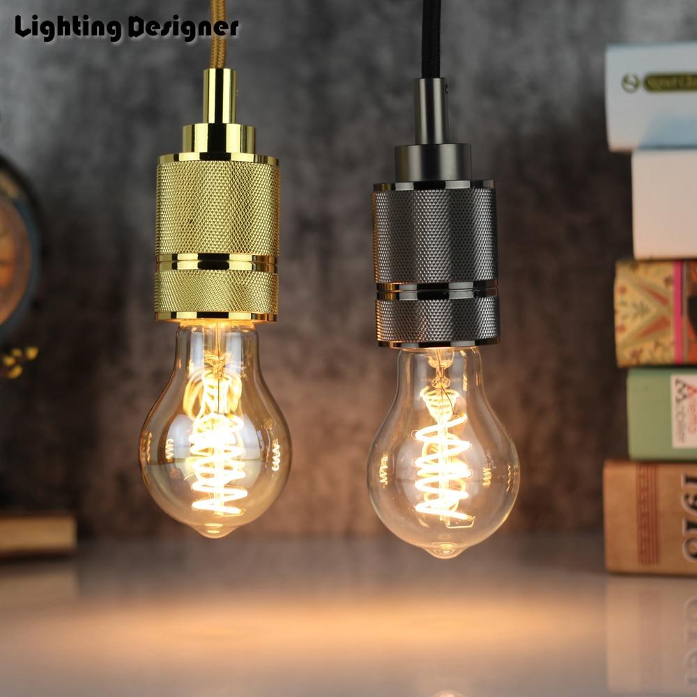 A19 Led Filament Bulb Nostalgic Edison Style 4w To Replace: Aliexpress.com : Buy A60 Edison Bulb LED E27 4W Vintage