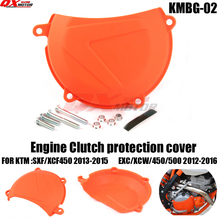 Engine Right Clutch Case Cover Guard for KTM SXF/XCF450 2013-2015 EXC/XCW450/500 2012-2016 Motocross Enduro Supermoto motorcycle clutch cover protection cover water pump cover protector for ktm 350 exc f excf 2012 2013 2014 2015 2016