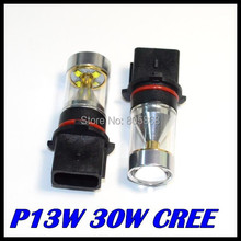 NEW CREE XBD P13W LED 30W High Power Fog Light DRL Daytime Running Car Lamp Signal Bulb 12V Free Shipping Wholesale