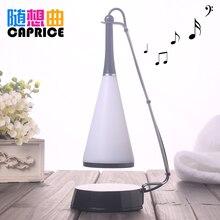 Creative birthday gift LED Bluetooth music desk lamp sound box charging fashion night lamp will be