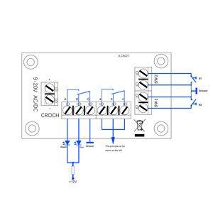 Image 4 - 1 takım güç dağıtım panosu distribütörü DC ve AC gerilim yeni model tren ho ölçek PCB009 demiryolu modelleme