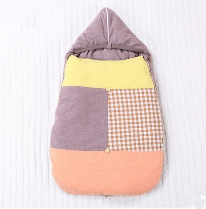 Uterine Style Baby Sleeping Bag Cotton Newborn  Winter Keep Warm Detachable Katoen Baby Slaapzak Sleepsack Baby Inbakeren