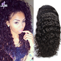 Unprocessed Malaysian Virgin Hair Lace Front Wigs Wet and Wavy Glueless Human Hair Lace Front Wig With Baby Hair For Black Women