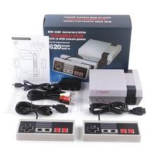 Retro CLASSIC มือถือมินิทีวีคอนโซลเกมมือถือคอนโซลวิดีโอเกม 620 เกมที่แตกต่างกันในตัว