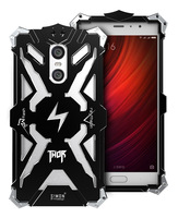Zimon Original Simon Case For Redmi Pro THOR IRONMAN Shockproof Metal Back Cover Aluminium Frame Anti