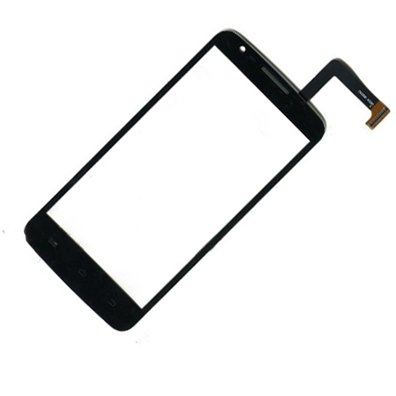 BKparts 1pcs Touch Glass and Touch panel  For avvio L500  Touch screen Digitizer senior Replacement black with free shipping