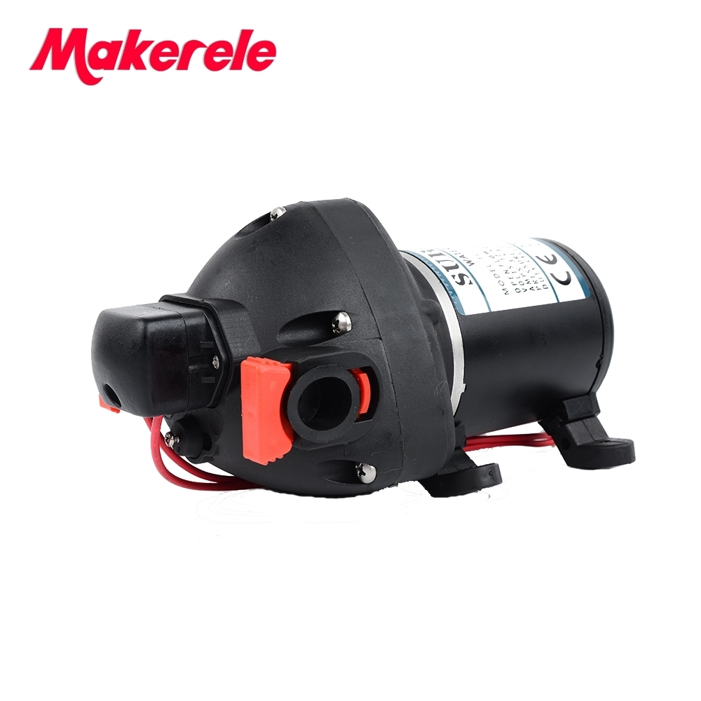 12/24VDC Micro Diaphragm Pump Self-priming Booster Pump With over-pressure,over-heating protection,Automatic Pressure Switch 120w self priming automatic household stainless water pressure booster pump
