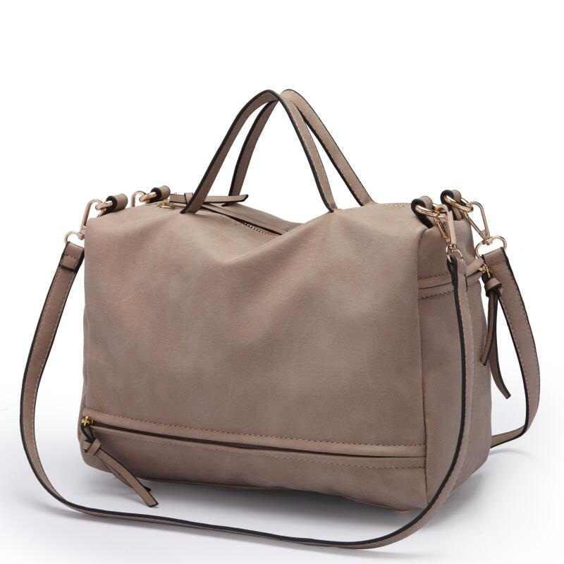 2019 брендовая модная женская сумка на плечо из нубука женская сумка винтажная сумка-мессенджер мотоциклетные сумки через плечо женская сумка