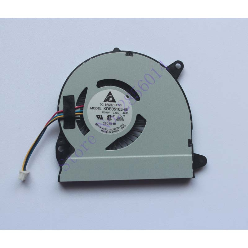 Laptop CPU Cooler Fan For ASUS X32 U32J U32JC U32U U32V U32VJ U82U X32U KDB05105HB -BJ23 DC5V 0.4A 4PIN Cooling laptop cpu cooler fan for foxconn nt330i ajbox n nfb61a05h f1fa1 k161a001 dc5v 0 3a