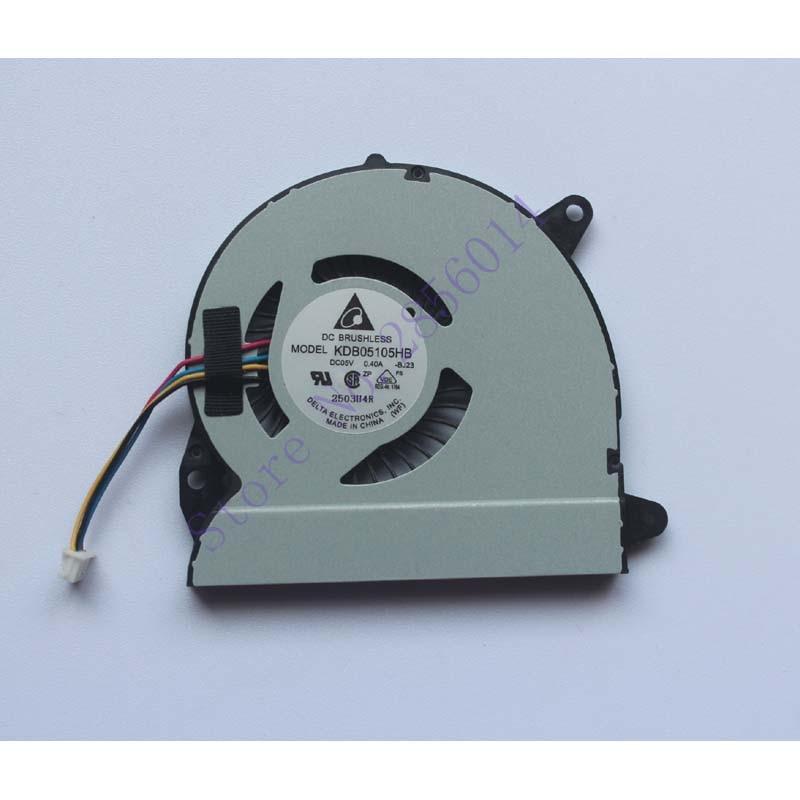 Laptop CPU Cooler Fan For ASUS X32 U32J U32JC U32U U32V U32VJ U82U X32U KDB05105HB -BJ23 DC5V 0.4A 4PIN Cooling u32u for asus u32u u82u u32u laptop motherboard mainboard integrado 100