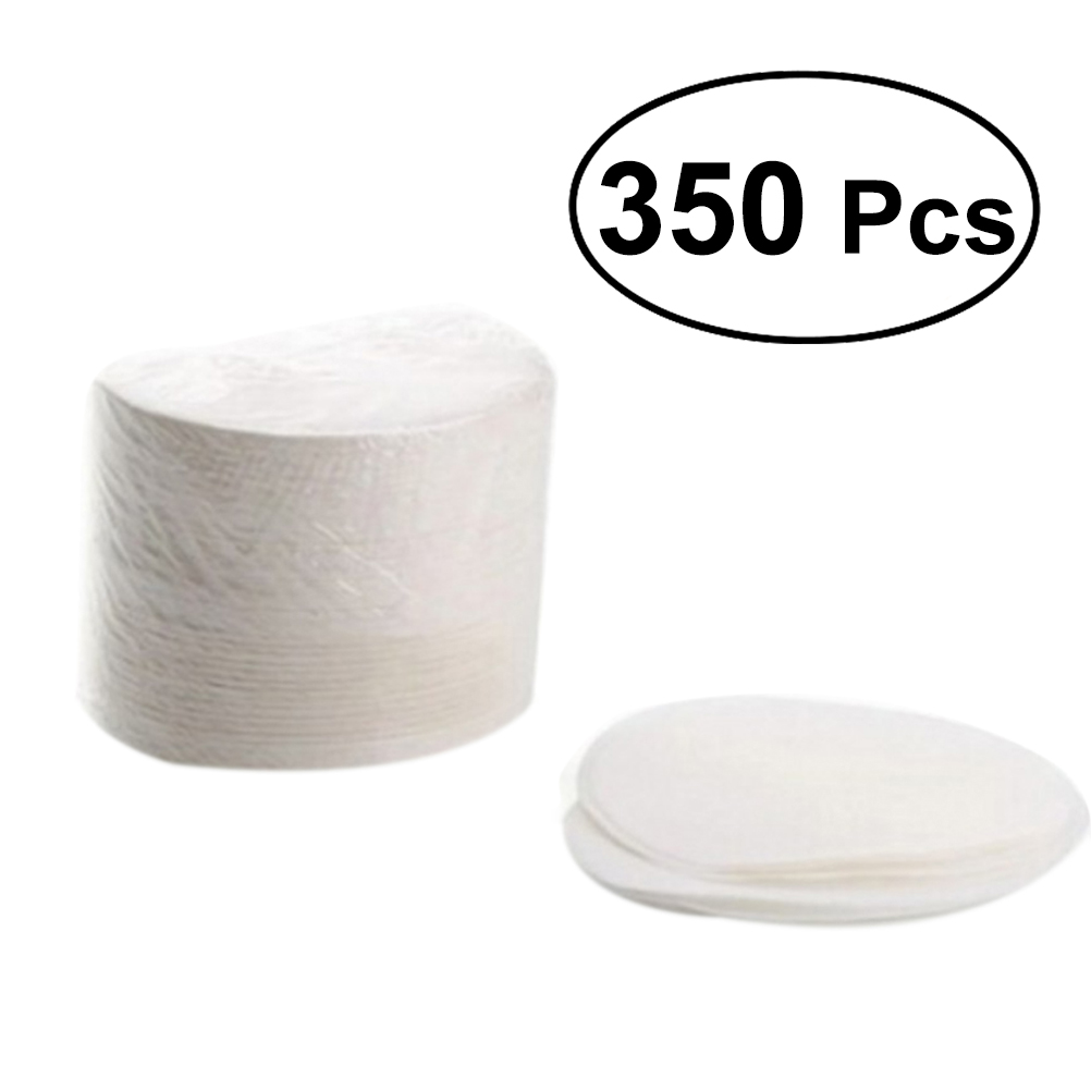 350pcs Round Bleached Coffee Filters Paper Coffee Strainers For Aeropress Coffee Maker