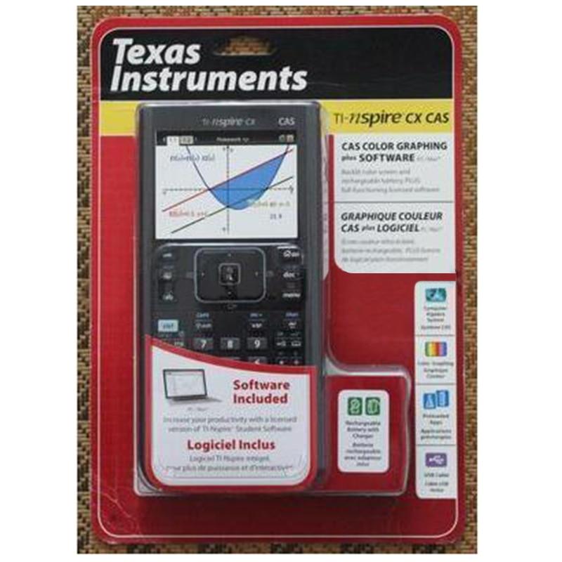 2018 Vente directe Led Led Calculatrice Usa Texas Instrumetns Ti Ti-nspire Cx Cas Couleur Calculatrice Graphique Anglais Sat/ap spécial