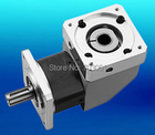 80mm right angle 90 degree good transmission gearbox reduction gearbox 15:1 planetary gearbox square flange output gearboxes