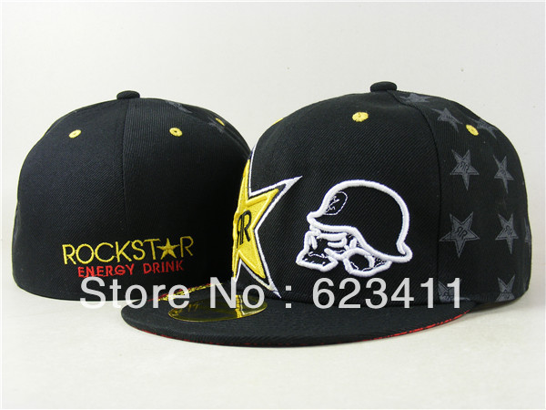 7a595d373c4 ... usa new arrival star energy drink chapeu embroidery rockstar hip hop  skateboard rock star cap women ...
