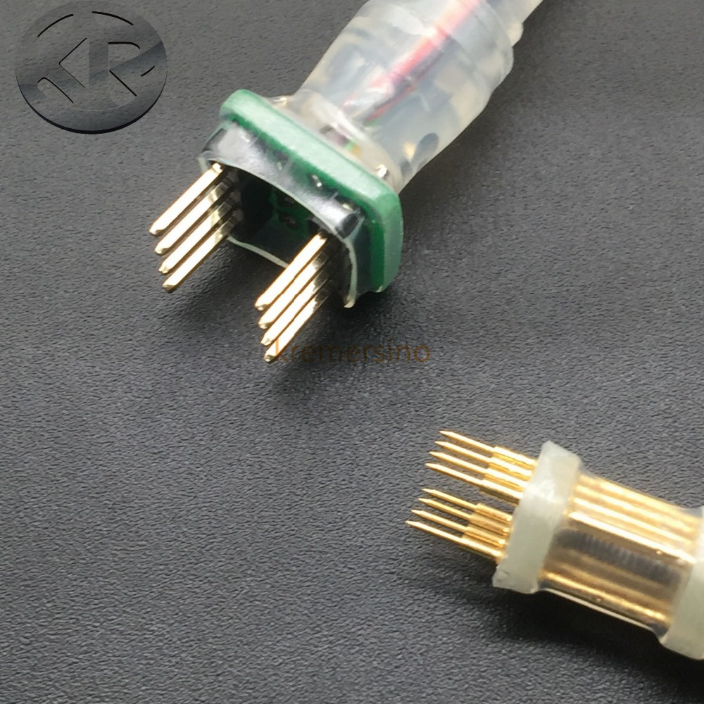SOP8 SOIC8 VSOP8 WSON8 SPI CABLE CLIP PROBE PIN FLASH READ DATA READING SOFTWARE TRANSFERING 8P