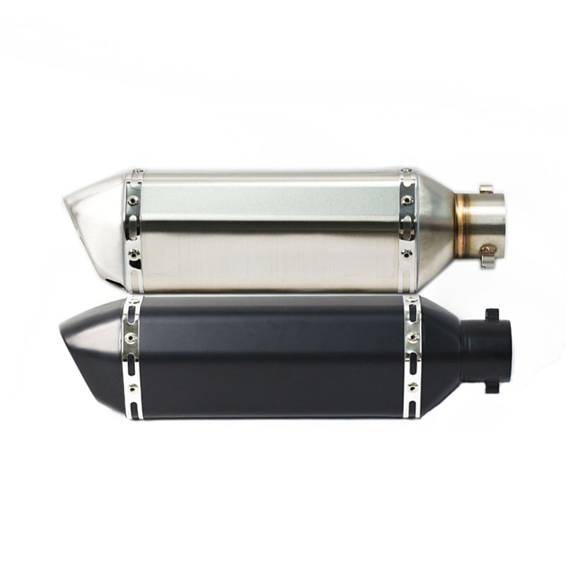 Universal Motorcycle for akrapovic Exhaust Motocross Scooter Muffler Pitbike For xadv CB600 MT07 MT03 z650 KTM ATV Dirt Pit Bike universal motorcycle exhaust modify akrapovic exhaust muffler nmax fz6 cbr250 cb600 mt07 atv dirt pit bike exhaust