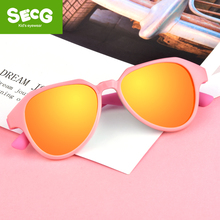 цена на Guanhao TR90 Flexible Kids Sunglasses Polarized Child Glasses Baby Safety Sun Glasses UV400 Eyewear Shades Infant oculos de sol