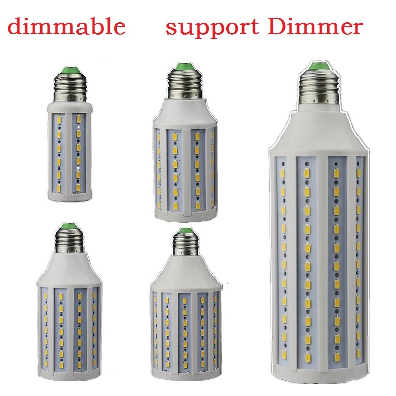 LED Dimming Light E26 E27 Bombillas 12W 15W 25W 30W 40W Dimmable Lampadas 110V 220V Bulb Lamp Led Candle Lighting Support Dimmer
