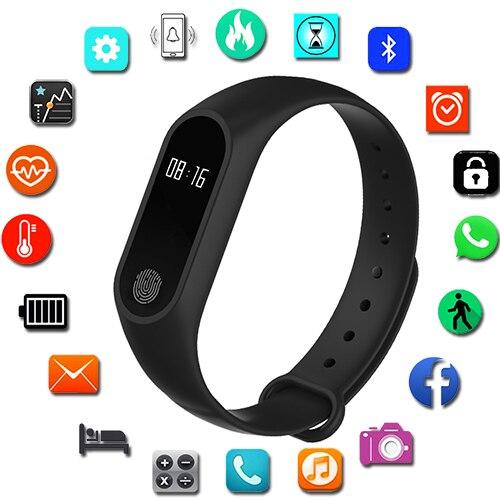 Sport Bracelet Smart Watch Women Men For Android IOS Smartwatch Fitness Tracker