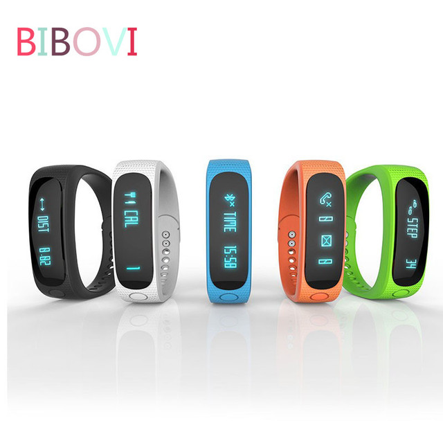 Waterproof Fashion Bluetooth Smart Activity Tracker Bracelet E02 Band Call/SMS Remind Sport Watch Connecte For Iphone Android