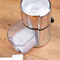 Hand operated Ice Crusher Freezer Household Ice Crushers Shavers Snow Cone Maker Smasher Grinder DIY Ice Cream Grinding Machine4