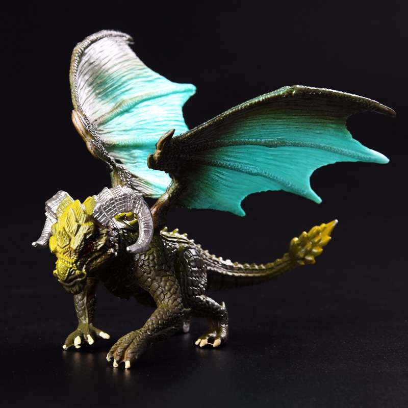 Image 2 - 1Pcs 12cm Simulation Magic Dragon Dinosaurs Archaeopteryx PVC Solid Action Figure Toy Doll Model Decoration Kid Adult Gift-in Action & Toy Figures from Toys & Hobbies