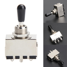 Replacement 3 Way Box Style Toggle Switch Pickup Selector for LP Electric Guitar Parts
