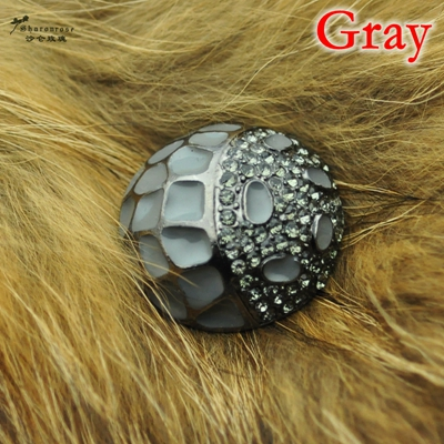 fed562dfd1 US $2.34 6% OFF|Free shipping 35mm craft supplies metal rhinestone  embellishments sewing buttons for fur coats ,clothing ,wedding  accessories-in ...