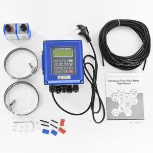 Image 1 - דיגיטלי אולטרסאונד מים Flowmeter קיר רכוב מהדק על TM 1 מתמר DN50mm 700 TUF 2000B RS485 ממשק IP67 הגנה