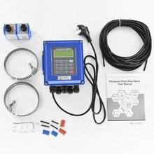 Medidor de flujo de agua ultrasónico Digital abrazadera montada en la pared en transductor de TM 1 DN50mm 700 interfaz RS485 protección IP67