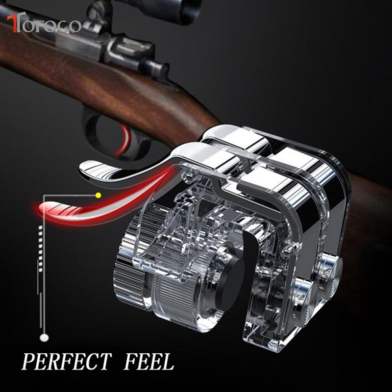 Image 4 - New R11s Gamepad PUBG Mobile Controller Trigger Control Cell Phone Gamepad L1R1 Gaming Shooter for Iphone Android Joystick-in Gamepads from Consumer Electronics