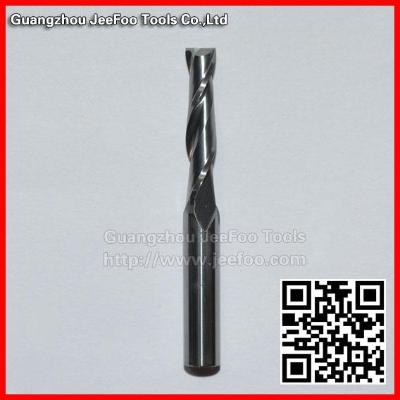 6 * 5 * 22mm دو فلوت Sprial Bit Carbide End Mills / CNC ابزار برش / CNC روتر بیت برای ماشین حکاکی